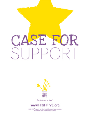 HIGH FIVE Case for Support